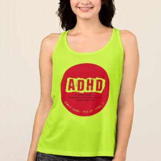 ADHD (活動過多か衝動的なタイプ)のタンクトップ タンクトップ