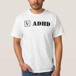 ADHD; Check! Tシャツ