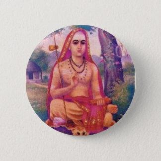 Adi Shankara 5.7cm 丸型バッジ