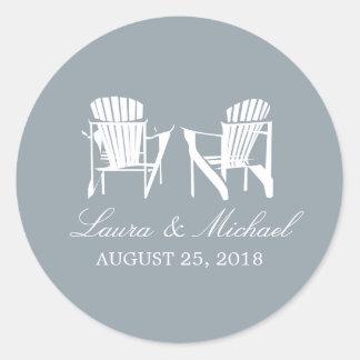 Adirondackは結婚する|の議長を務めます ラウンドシール