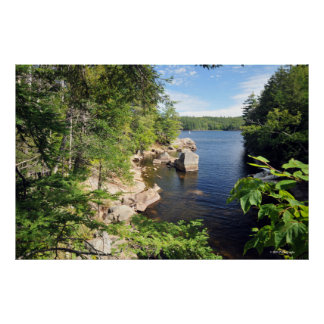 Adirondacksのインド湖。 プリント08 103 ポスター