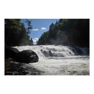 Adirondacksのバターミルクの滝。 プリント08 297 ポスター