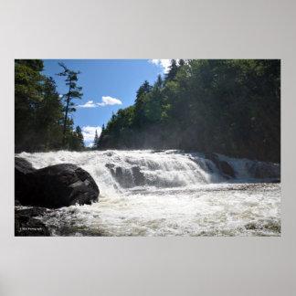 Adirondacksのバターミルクの滝。 08 301 ポスター