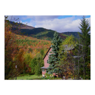 Adirondacksの秋 ポスター