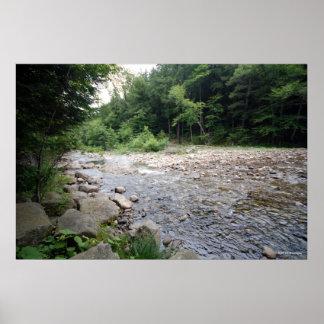 AdirondacksのAuSableの川。 プリント252 ポスター