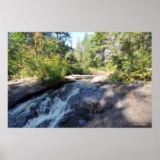 AdirondacksのRaquetteの川。 プリント08 213 ポスター