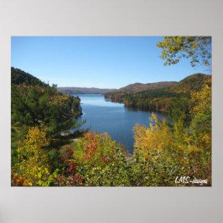 Adirondacksポスターの秋 ポスター