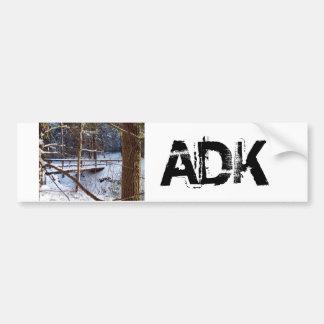 ADKのバンパーステッカー バンパーステッカー