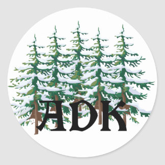 ADK Adirondackのマツ ラウンドシール