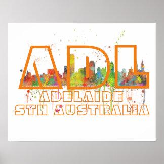 ADLアデレードオーストラリア-ポスター ポスター