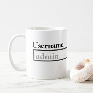 Adminのコップ コーヒーマグカップ