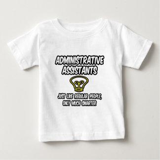Admin. より頭が切れるなだけ助手の…規則的な人々、 ベビーTシャツ