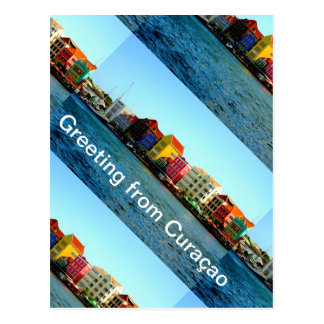 Admiro著クラサオ島のデザインの島 ポストカード