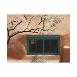 Adobeの緑の窓 キャンバスプリント