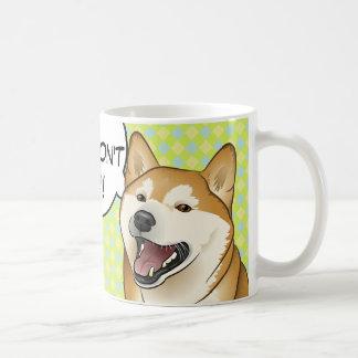 adopt買物をしません! 柴犬日本のな犬のマグ コーヒーマグカップ