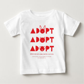 AdoptRedDoor.jpg ベビーTシャツ
