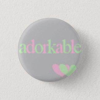 adorkable 3.2cm 丸型バッジ
