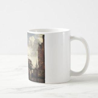 Adriaen著アムステルダムのMartelaarsgracht コーヒーマグカップ