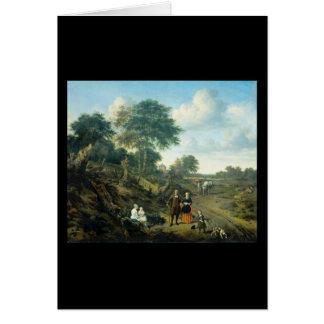 Adriaen van de Velde家族 カード