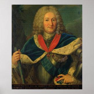 Adrienモーリスde Noailles公爵 ポスター