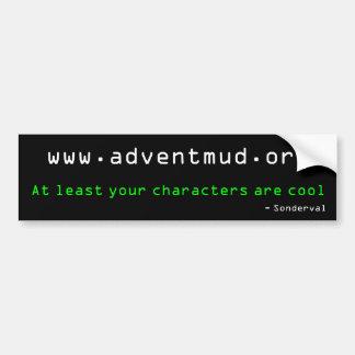 adventmud.org -スローガンのコンテストの勝者 バンパーステッカー