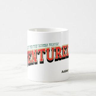 Adventurelandの遊園地、Addison、イリノイ コーヒーマグカップ