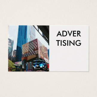 ADVER TISING NYC 名刺