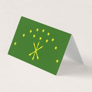 Adygeaの旗 名刺