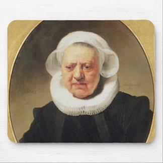 Aechje Claesdar 1634年のポートレート マウスパッド