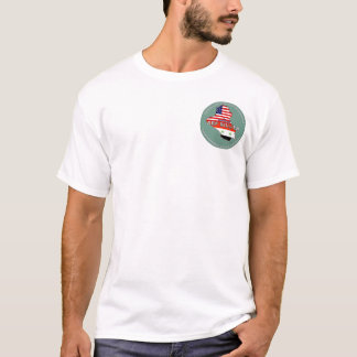 AEFの銀 Tシャツ
