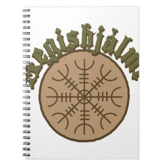 Aegishjlamrの横木Sigil ノートブック
