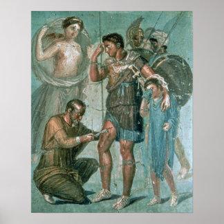 Aeneasはポンペイから、傷つきました ポスター