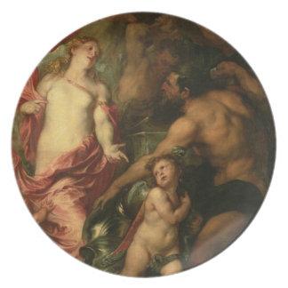 Aeneas (油の装甲のためのVulcanを頼む金星 プレート