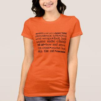 Aerialistの用語 Tシャツ