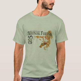 Aestivalフェスティバル08' Tシャツ
