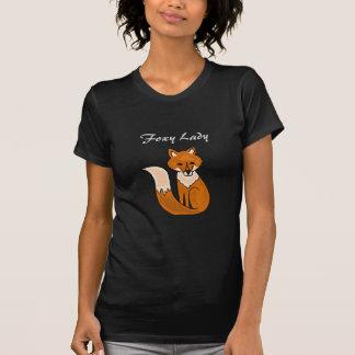 AFずるい女性Dark Shirt Tシャツ