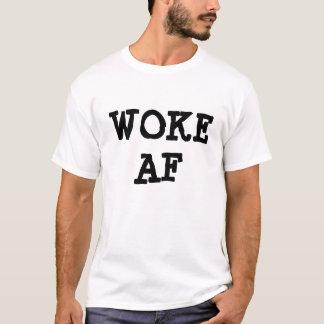 AFを目覚めさせました Tシャツ