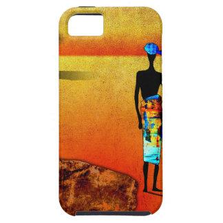 af039アフリカのレトロのヴィンテージのスタイルのギフト iPhone SE/5/5s ケース