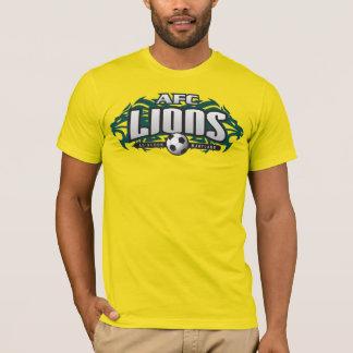 AFCのライオンの金ゴールド(#) Tシャツ