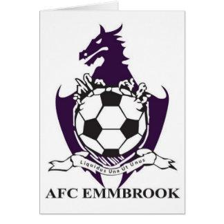 AFC Emmbrook カード