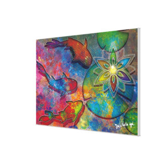 affiches-Alchimie-spirituelle キャンバスプリント