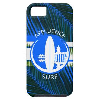 Affliuenceの青いやし箱 iPhone SE/5/5s ケース