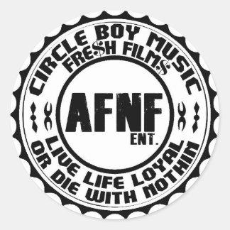 AFNFのENTロイヤリティのバッジ項目 ラウンドシール