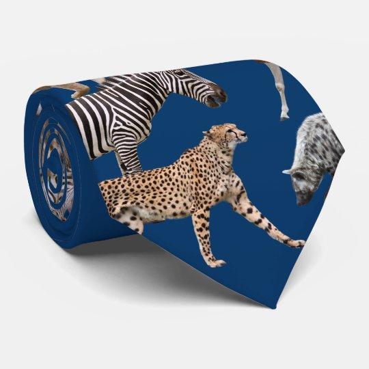 African Animals オリジナルネクタイ