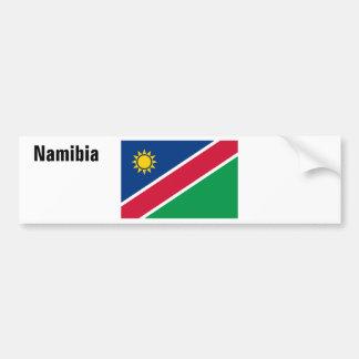 Africankokoのカスタムなコレクション(ナミビア) バンパーステッカー