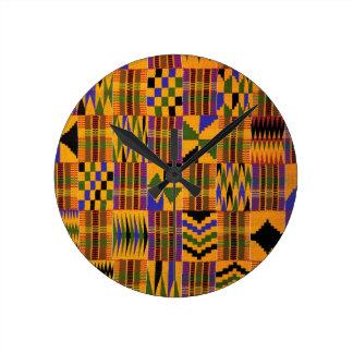 AfricankokoのカスタムKwanzaa ラウンド壁時計