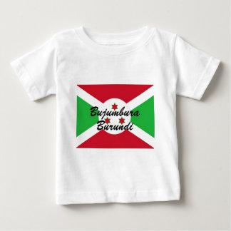 AfricankokoカスタムなブジュンブラブルンディのTシャツ ベビーTシャツ
