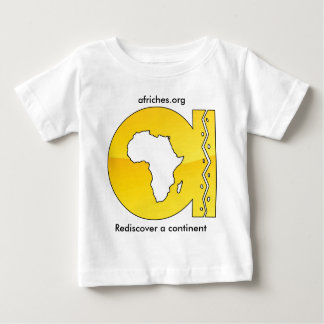 afriches.org ベビーTシャツ