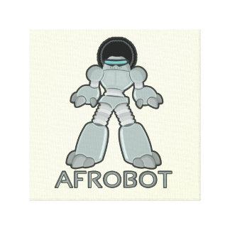 Afrobot -アフリカのロボット キャンバスプリント