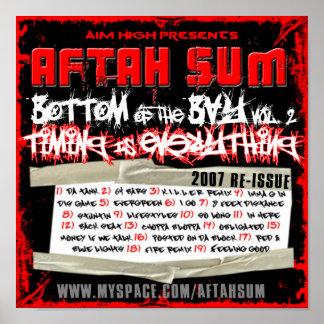 Aftahの合計-湾Vol. 2ポスターの底 ポスター